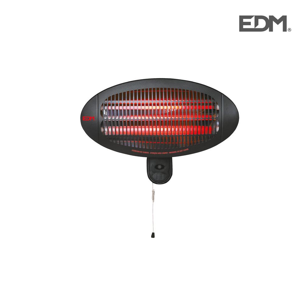 Estufa de cuarzo de exterior – 2000w – edm