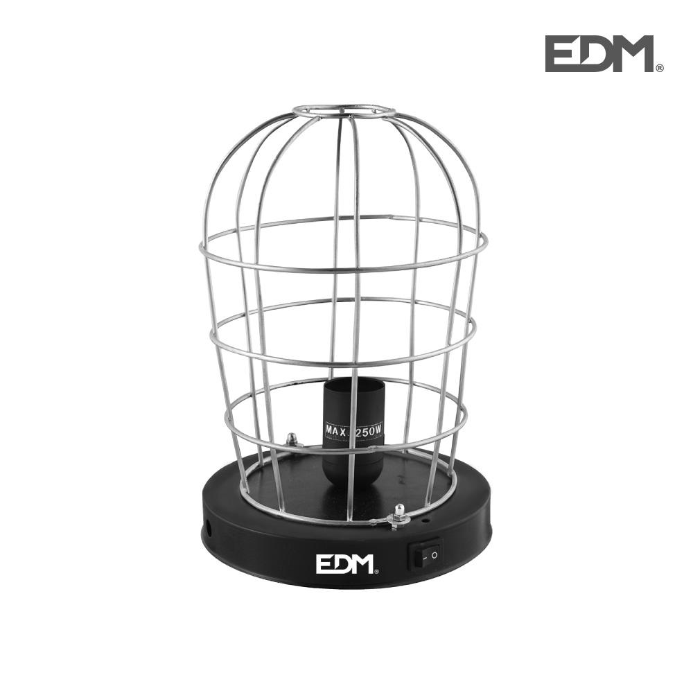 Jaula para lampara infrarrojos – (lampara no incluida) – edm