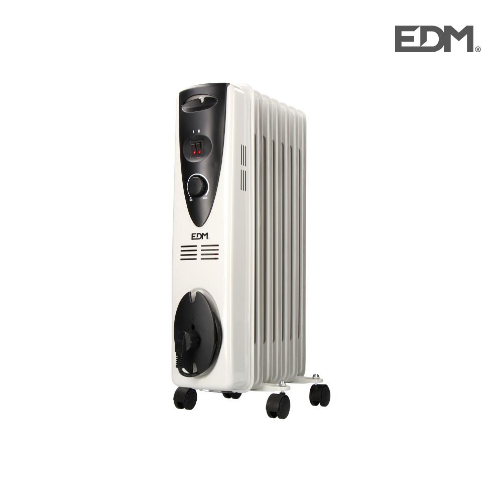 Radiador de aceite – 1500w – (7 elementos)  – edm