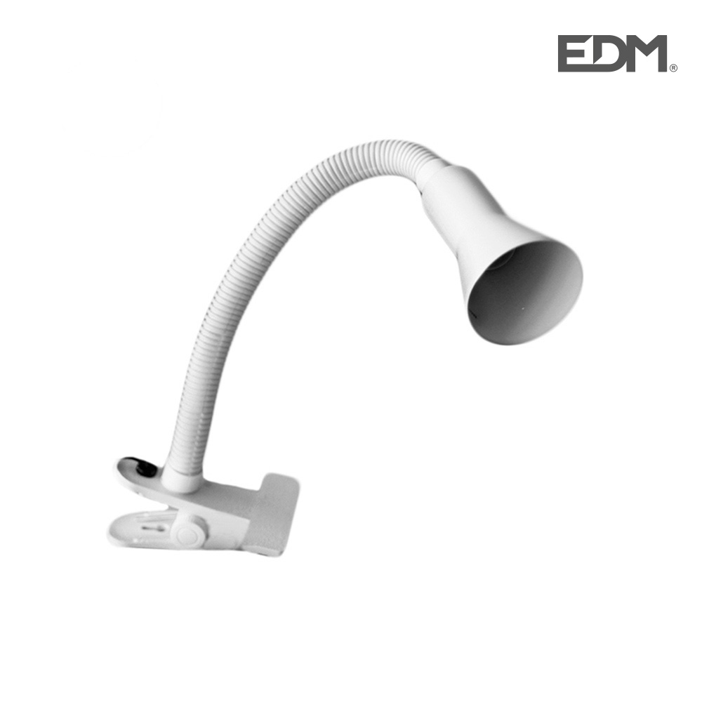 Flexo pinza blanco modelo tokyo 40w e14 edm
