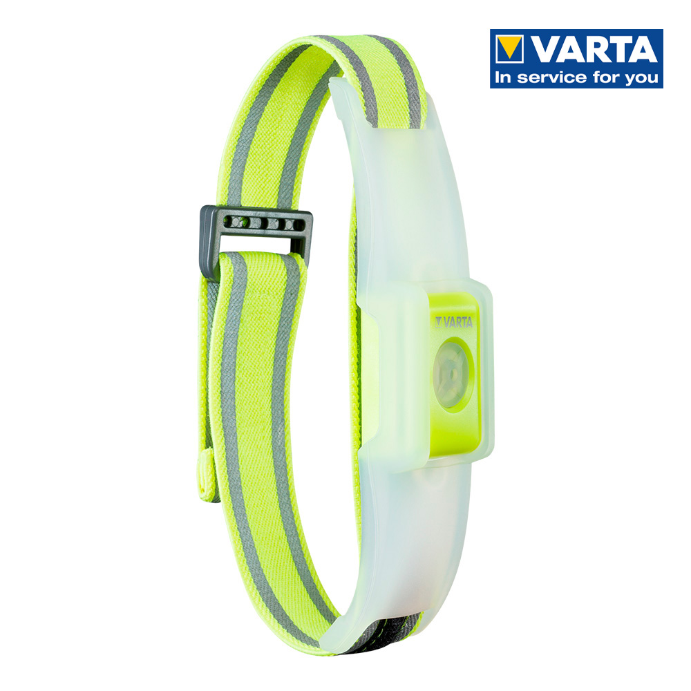 Ultimas unidades :  linterna  banda led reflectante varta outdoor sports