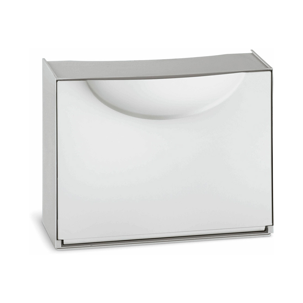 Zapatero modulable blanco 51x19x39cm