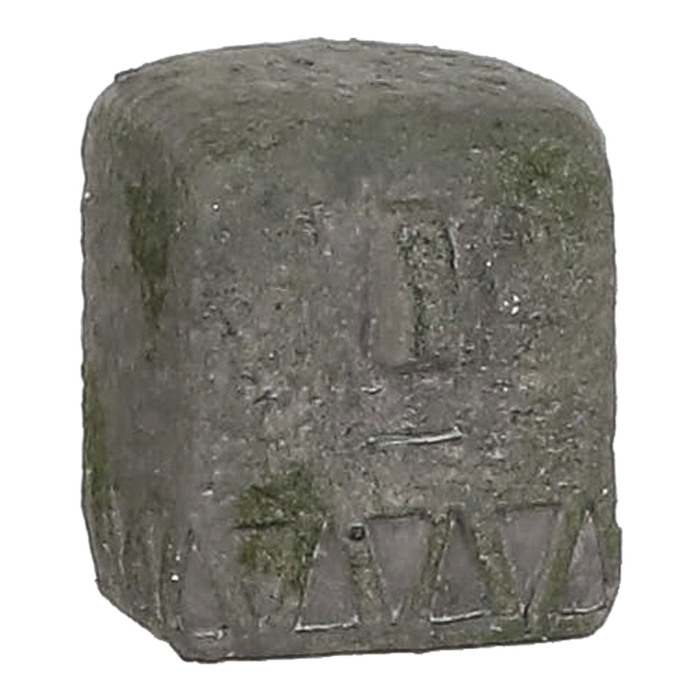 Ultimas Unidades :  estatua gris 9x8x9.5cm