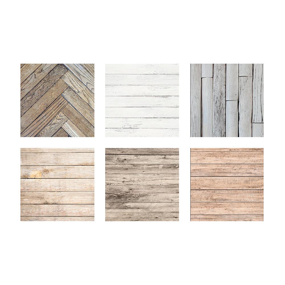 Vinilo de pared imitacion madera modelos surtidos